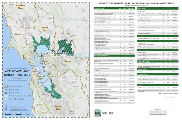 Project Maps | San Francisco Bay Joint Venture